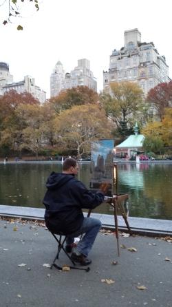 En Plein Air in Central Park